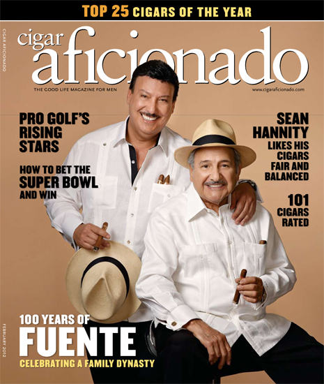 Celebrating 100 years ©Cigar Aficionado